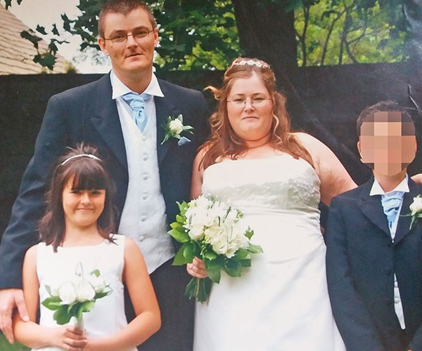 As a bridesmaid at their wedding - I was thrilled for mum. **Pictures exclusive to Take 5**
