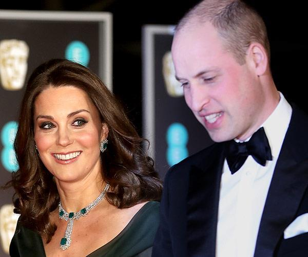 Kate was pregnant with Prince Louis at the time.