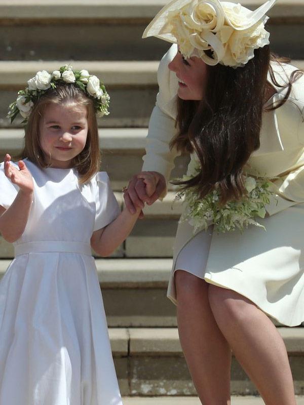 Doting on her little Princess.