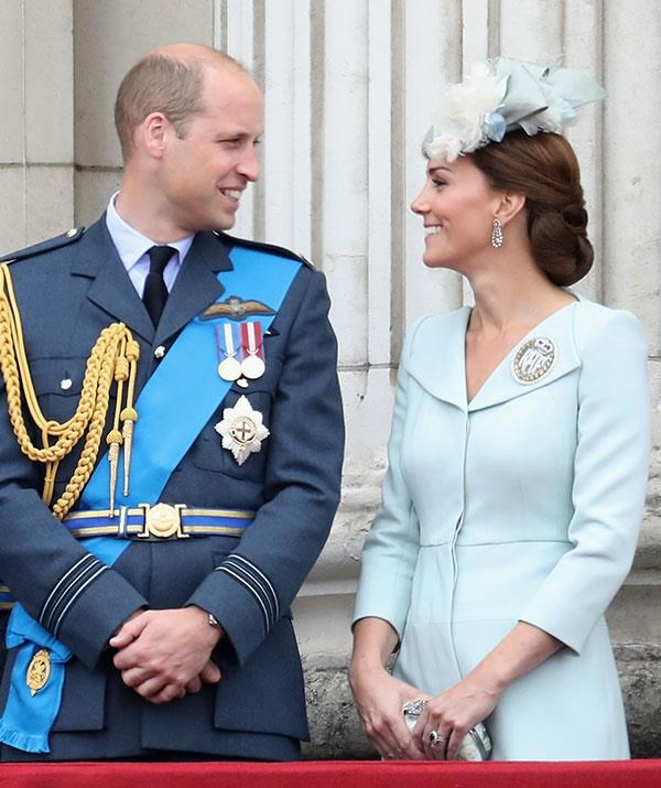 A sweet moment between the Duke and Duchess.