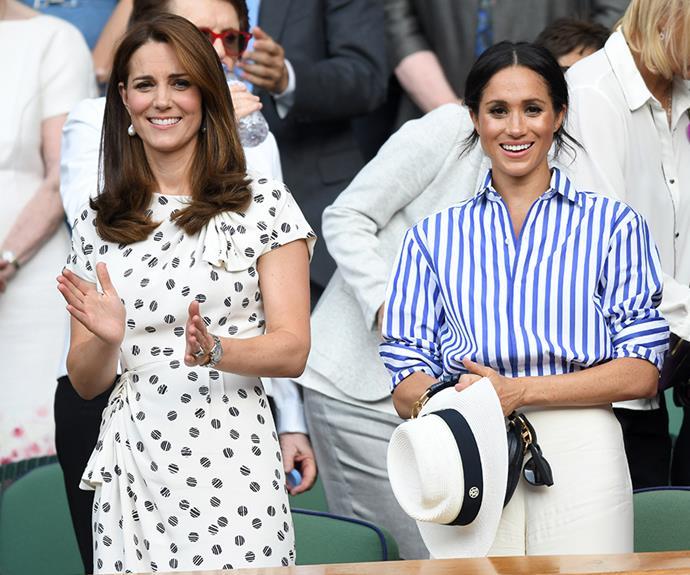 The ladies at Wimbledon.