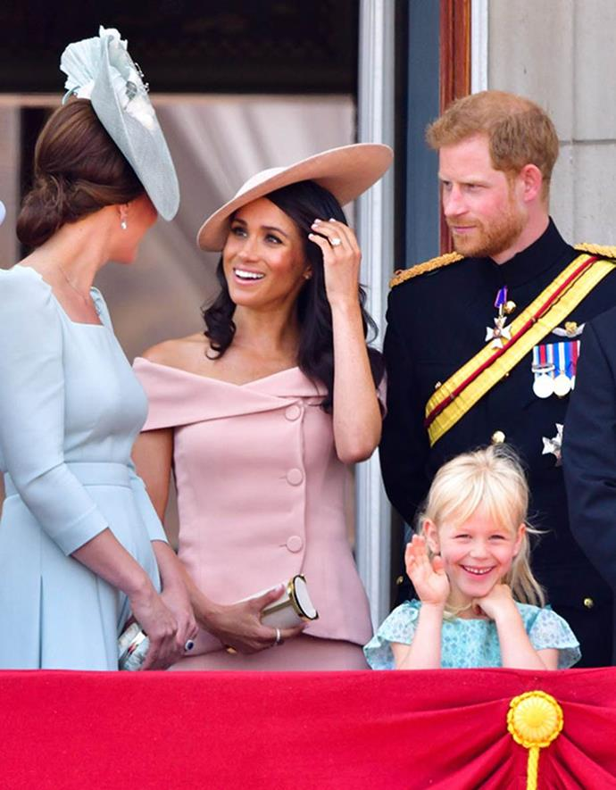 Catherine and Meghan wowed at Trooping the Colour.