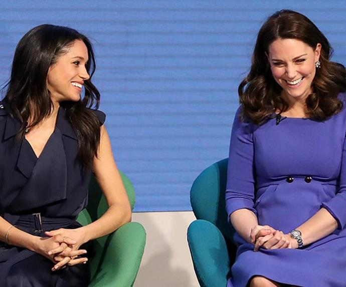 Heads Together marked Meghan and Catherine's first work event together.
