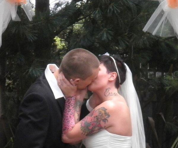 I thought our wedding would mark a fresh start. **Pictures exclusive to Take 5**