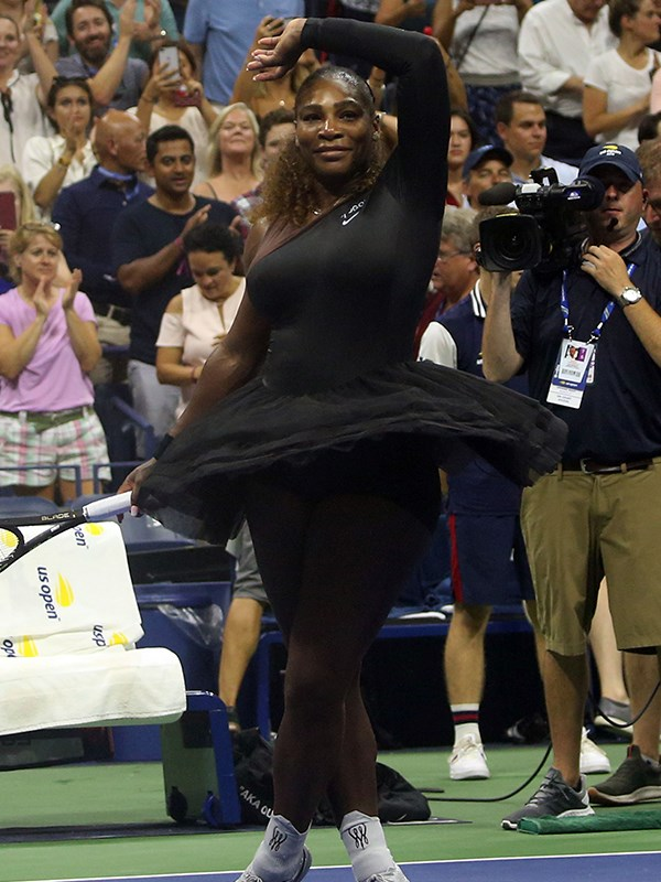 Legend in a tutu, Serena Williams.
