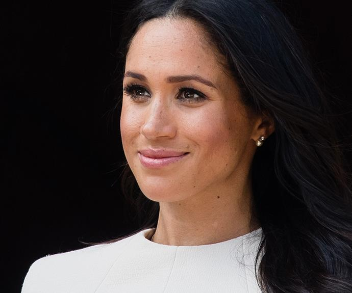 The Queen also gifts jewels. It's thought the earrings worn by Meghan in Cheshire were a present from her royal grandmother.
