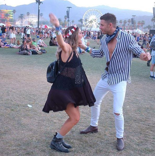 The couple tore it up at Coachella music festival in April 2018.