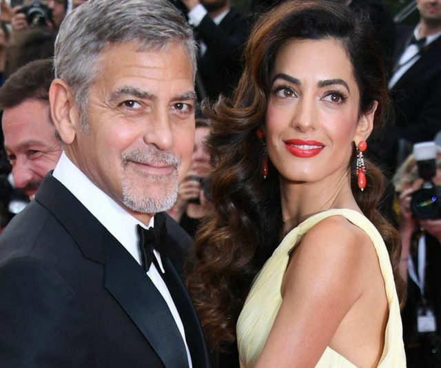"Oscar winner, George Clooney celebrated his 56th birthday just one month before becoming a dad for the very first time. [George welcomed twins Ella and Alexender](https://www.nowtolove.com.au/parenting/pregnancy-birth/amal-clooneys-mum-says-the-new-parents-are-so-happy-38200|target=""_blank"") with wife Amal Clooney in 2017. *Image: Getty.*"