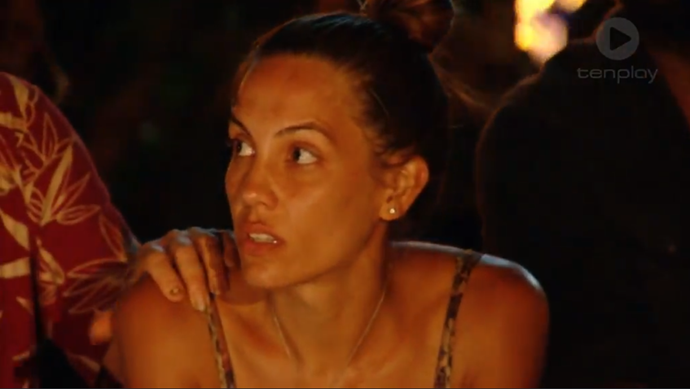Tegan faces two rounds of voting at her final tribal council.