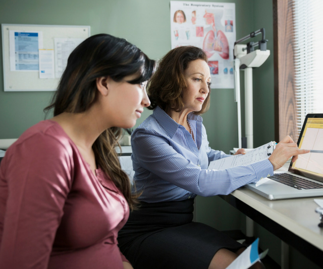 Remember to take your antenatal notes to every antenatal appointment and to any GP visits.