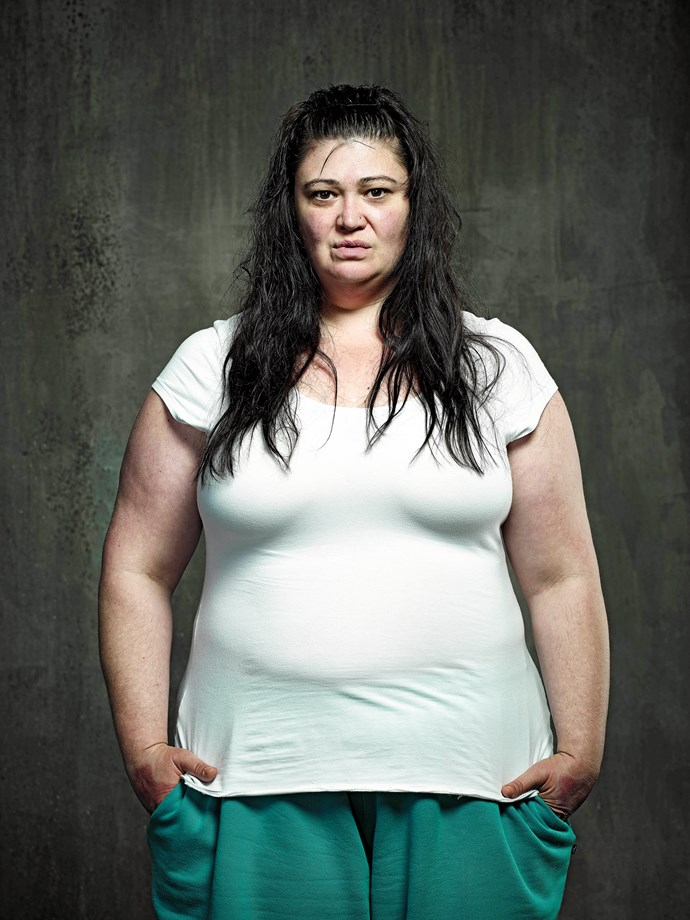 Katrina Milosevic as Boomer in Australian drama *Wentworth*.
