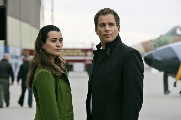 Michael Weatherly and Cote de Pablo have reunited.
