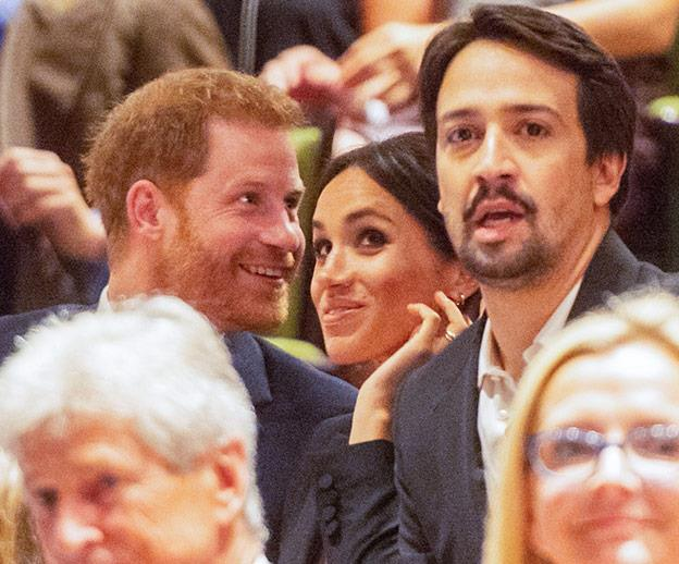 """Over the course of the evening, Their Royal Highnesses will meet representatives from Sentebale and Hamilton, including members of the cast and crew."""