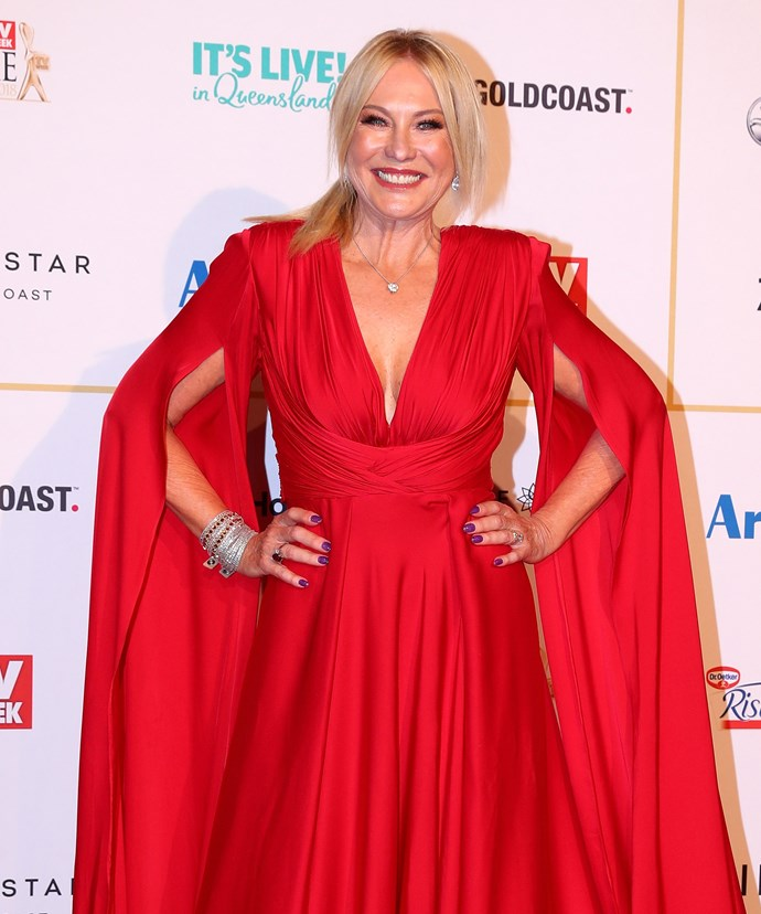 Kerri-Anne Kennerley at the *TV Week* Logie Awards in 2018.