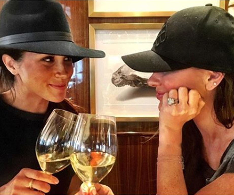 The Duchess of Sussex took some time out for a much-needed girls trip to see her dear friend Canadian stylist Jessica Mulroney.