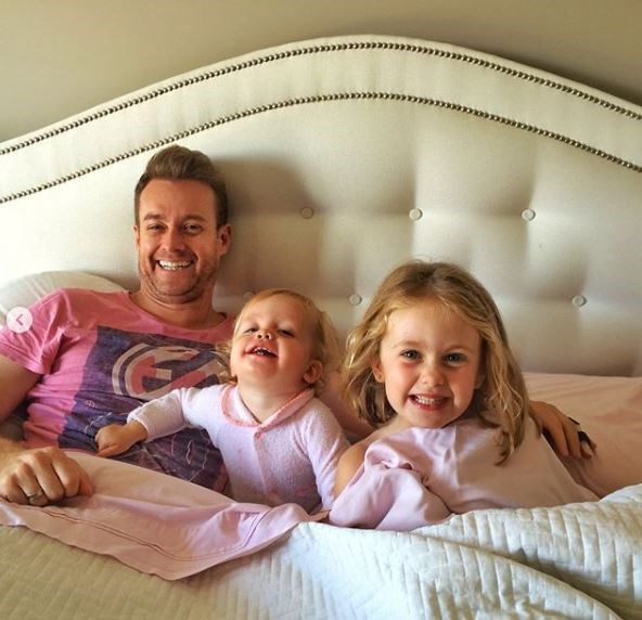 Chezzi Denyer posted a sweet tribute to Grant and their two girls, Sailor and Scout.