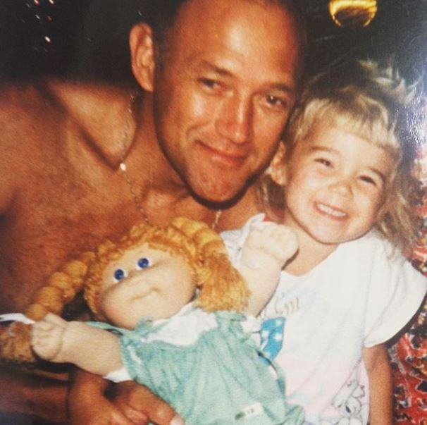 Jasmine Yarbrough shared this cute throwback with her dad.