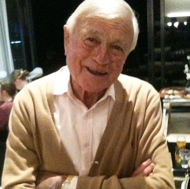 *The Voice* host Sonia Kruger posted a sweet photograph of her late dad, Adrian.
