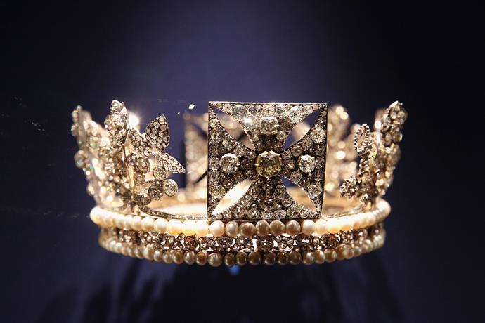The Diamond Diadem.