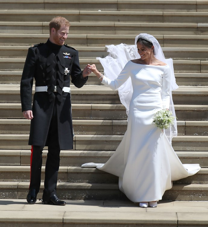 Duchess Meghan's wedding dress designer, Givenchy, sparked an online shopping frenzy.