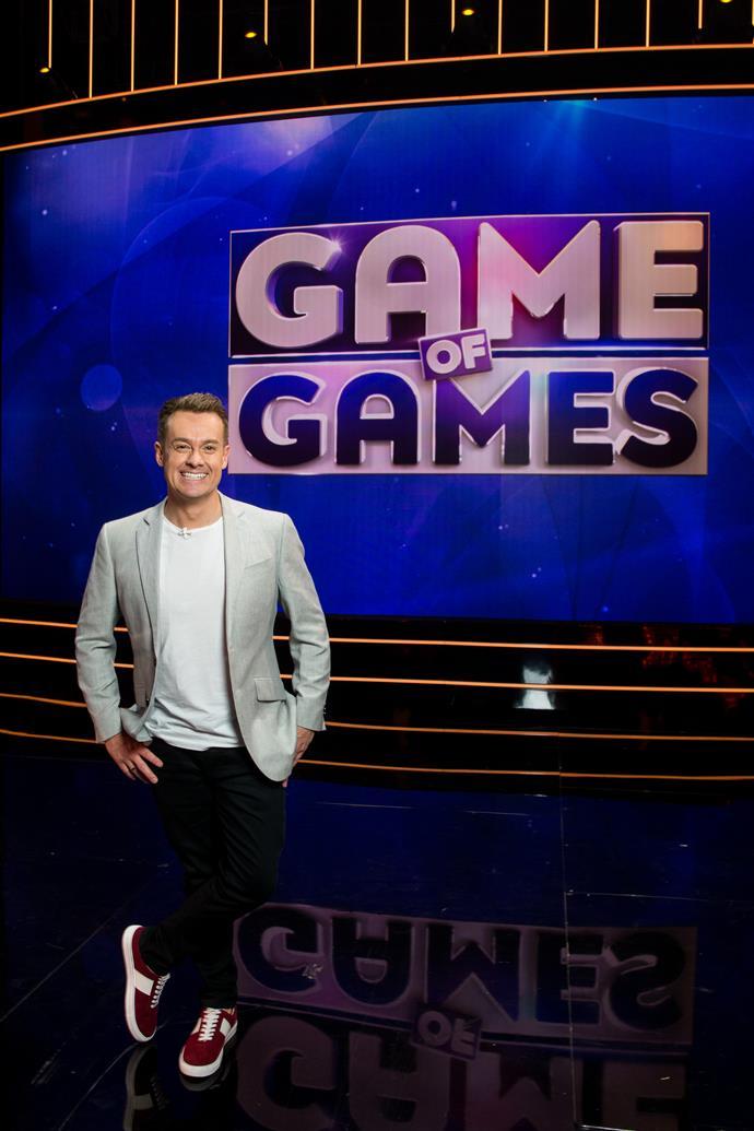 Grant Denyer hosts *Game of Games.*