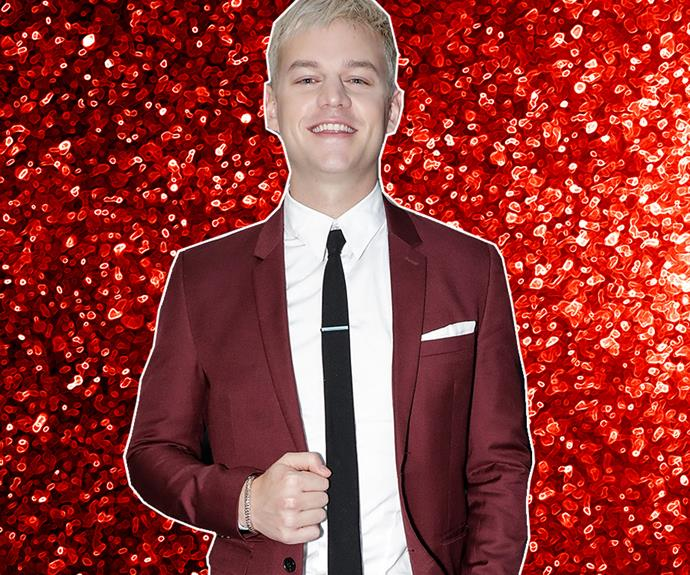 Joel Creasey plays cupid on *Take Me Out*.