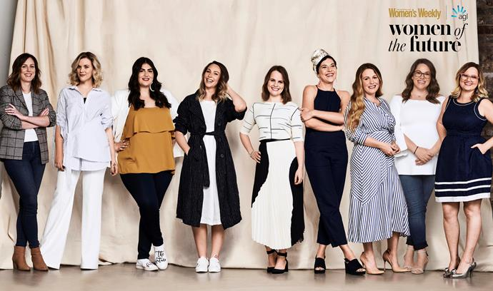 The 2018 Women Of The Future Award finalists.
