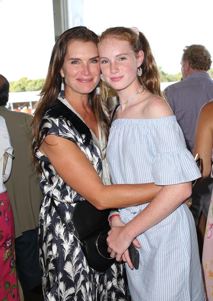 The pair stepped out on a mother-daughter outing on Sunday to the Hampton Classic Horse show in New York