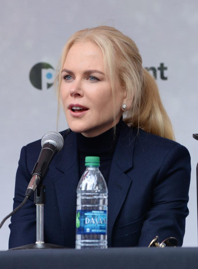 Nicole Kidman at the Telluride Film Festival 2018.