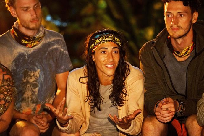 Lydia was blindsided at tribal council.