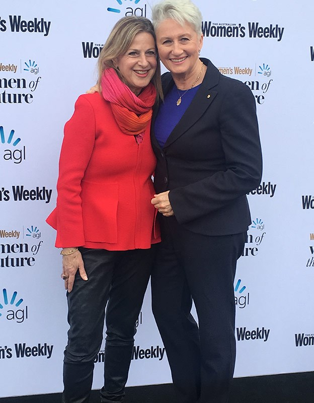 Dr Kerryn Phelps and wife Jackie Stricker Phelps.