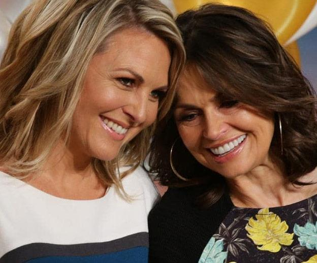 Lisa and Georgie have been pals since working together on the *Today* show.