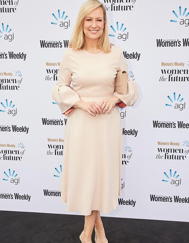 Journalist and host of *Sunday Night* Melissa Doyle.