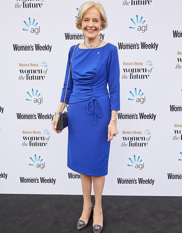 Former Governor-General of Australia, Quentin Bryce.
