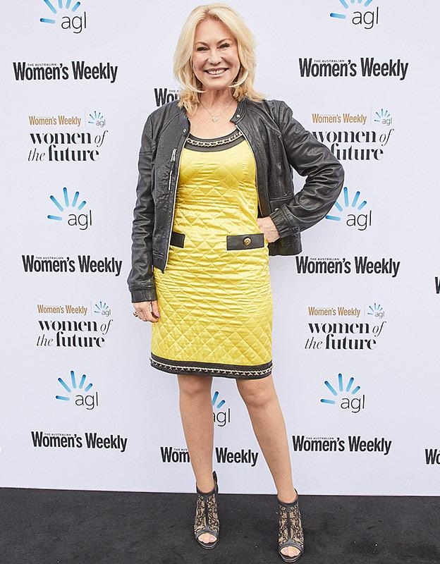 Australian icon Kerri-Anne Kennerley steps out to the Women of the Future awards in the same week it was announced she will be joining the *Studio 10* panel.