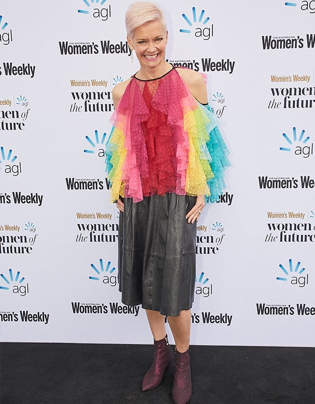 Journalist Jessica Rowe always brings the colour!