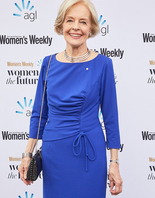 Dame Quentin Bryce arrives to the Women of the Future Awards on Wednesday.