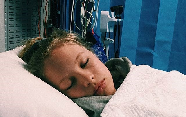 "*Home and Away* actress Olivia Deeble, 16, was rushed to hospital with brain swelling after sustaining a head injury. Image: Instagram/[@oliviadeeble](https://www.instagram.com/oliviadeeble/|target=""_blank""