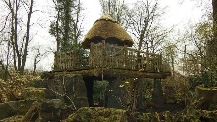 Holyrood Treehouse was originally built in 1989 for Princes William and Harry and is now used by George and Charlotte.