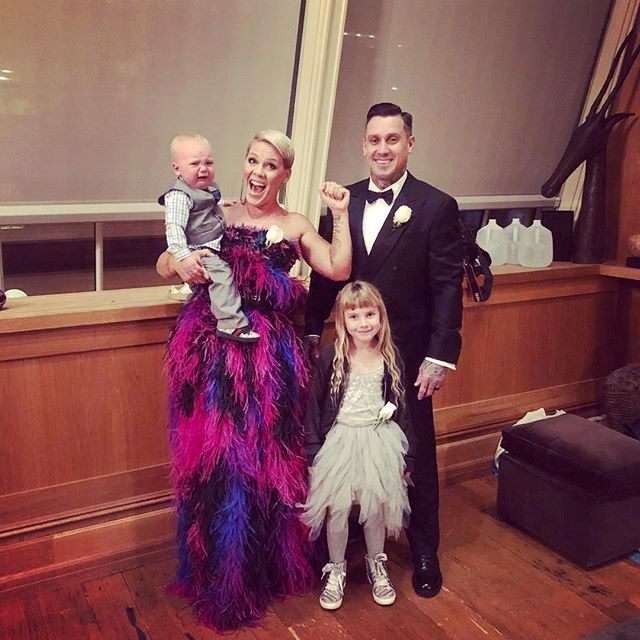 "Pink and Carey Hard share plenty of candid pics illustrating the joys of parenting. Image: Instagram/[@pink](https://www.instagram.com/pink/|target=""_blank""