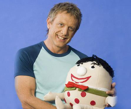 Simon Burke was another staple on *Play School* who's kind personality made him a hit with parents and kids alike. Simon was on *Play School* from 1998-2007 and has had a successful career in TV, most recently on *Deep Water* as Simon Mawbrey.