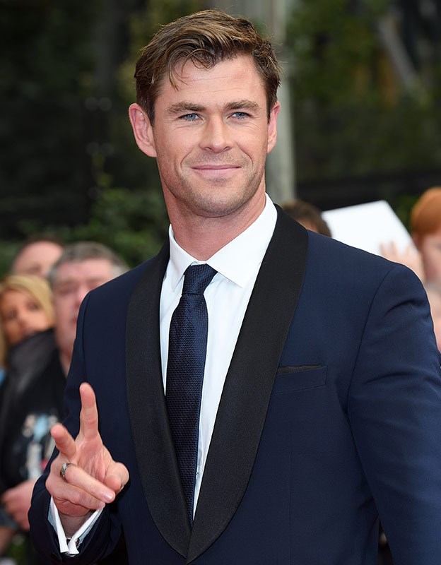 Aussie Prince... Chris Hemsworth.