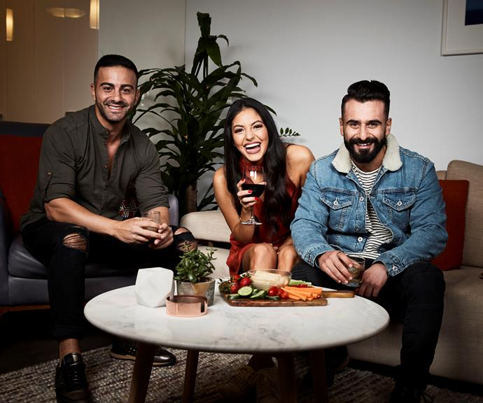 """**Jad, Sarah Marie and Matty**  Married couple [Sarah Marie and Matty](https://www.nowtolove.com.au/celebrity/tv/gogglebox-australia-jad-sarah-marie-matty-53910