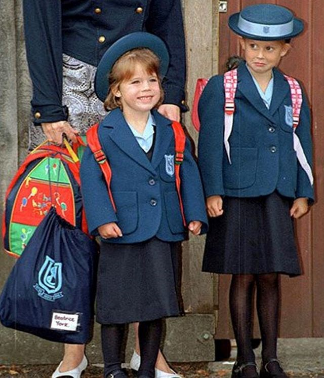 """The Princesses were snapped together for Eugenie's first day at school. *Image credit: Instagram/[@princesseugenie](https://www.instagram.com/princesseugenie/?hl=en