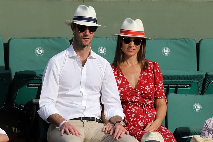 Duchess Catherine's sister has nailed the maternity style stakes.