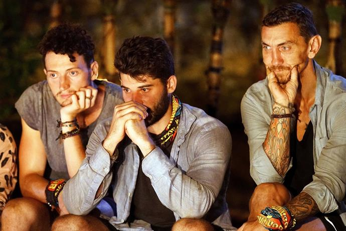 Robbie knew his time was up on *Australian Survivor.*