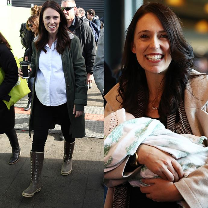 "**Jacinda Ardern, Prime Minister of New Zealand** <br><br> As the second female leader in the world to give birth while in office, Jacinda is an empowering and inspiring role model to working mums across the globe. After giving birth to her daughter in June, Jacinda has already returned to work. <br><br> Former Prime Minster of New Zealand Helen Clark said of the new mum: ""For young women, the example Ardern is setting is an affirmation that they too can expect to have that choice."""