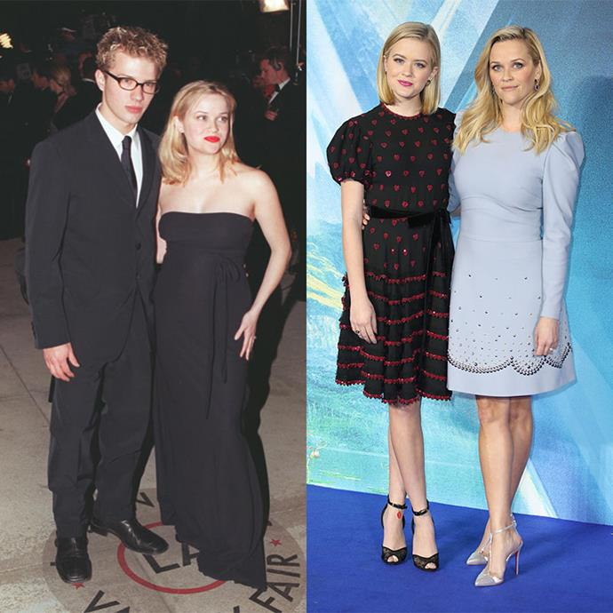 **Reese Witherspoon, actress** <br><br> This oscar-winning mum positively gushes over her children, and frankly, it's beautiful to see. She regularly shares pictures with her children via her Instagram account with plenty of #proudmum moments to behold.  <br><br>  There's also no denying the companionship between Reese and her eldest child, Ava, who is a dead ringer for the actress. The pair often take to the red carpet together - looking more like sisters than mother and daughter.