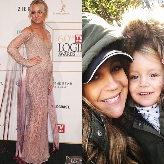 "**Carrie Bickmore, TV host** <br><br> This mum-of-two proves it's possible to have a successful career while raising children at the same time. Carrie is also super open when it comes to sharing special moments with her kids. In a recent column in *[Stellar Magazine](https://www.dailytelegraph.com.au/lifestyle/stellar/how-to-explain-death-to-your-threeyearold/news-story/39947f9be1a0ff94c2f96df3e6c34112|target=""_blank""