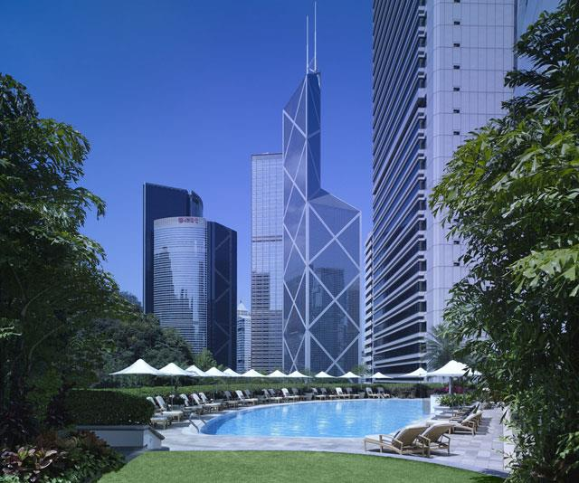 The Island Shangri-La in Hong Kong - yes, you can take the kids but it's great if you don't.
